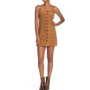 🆕 KENEDIK Corduroy Button Down Dress Size Large